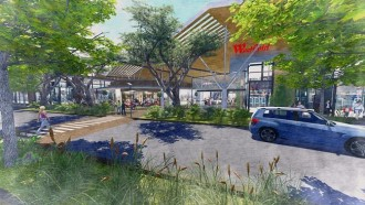 Coomera Town Centre Artists Impression